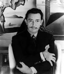 Caricatura Salvador Dalí por José García
