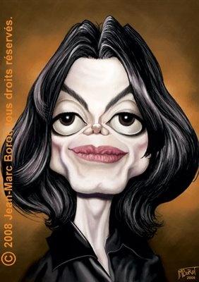 caricatura de Michael Jackson por Veronica